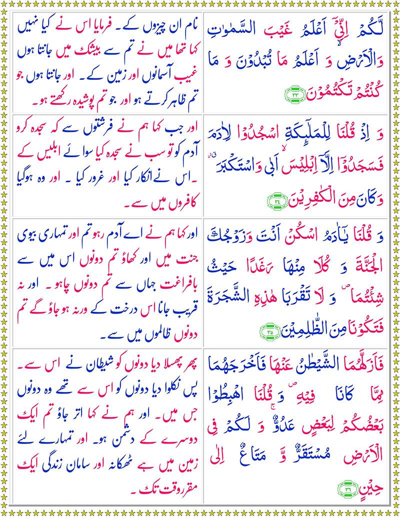 Read Surah Al-Baqarah Online