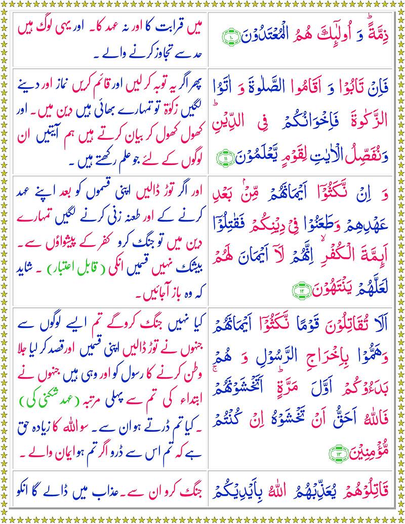 Read Surah At-Taubah Online