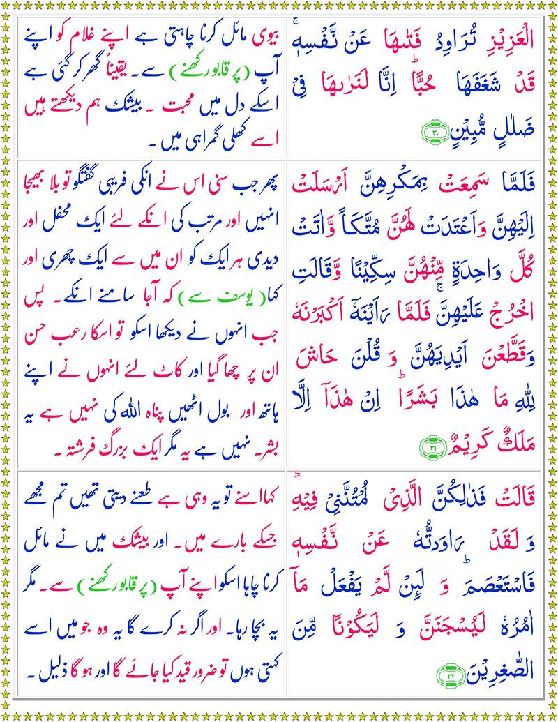 Read Surah-Yusuf Online