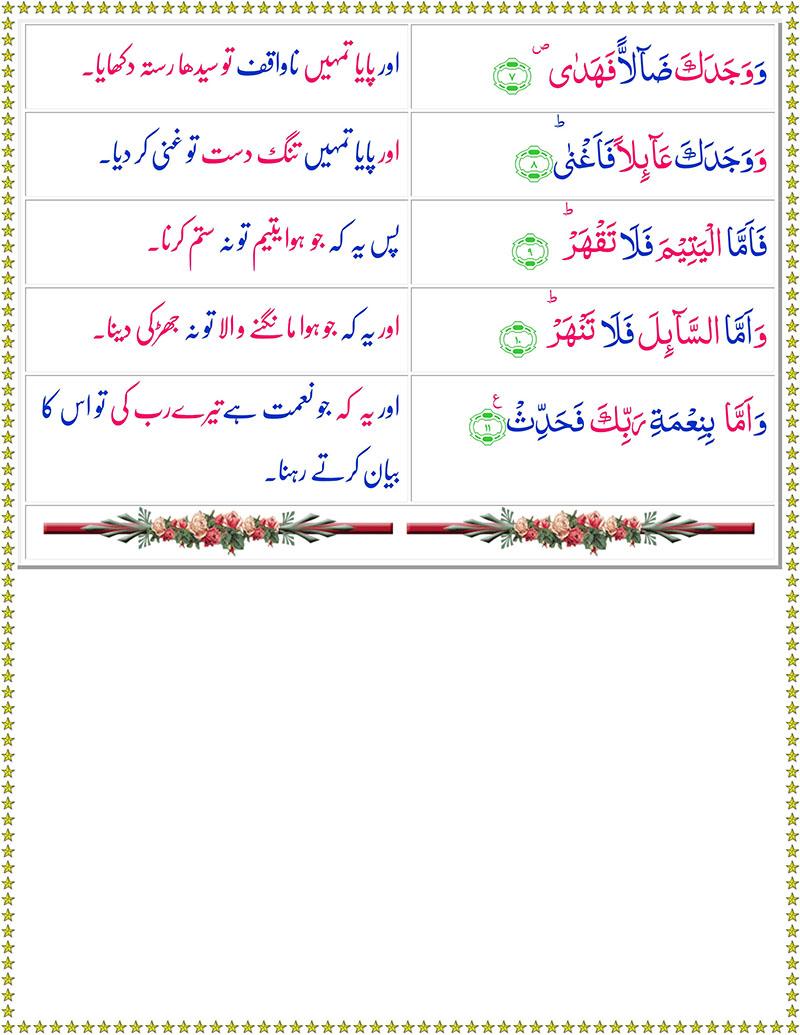 Read Surah-Ad-Duha Online